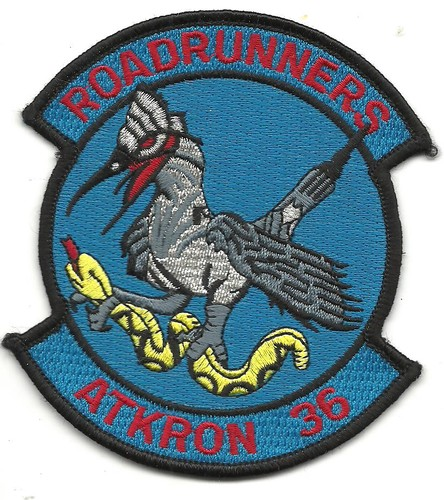 US Navy ATKRON 36 Attack Squadron 36 Roadrunners Patch 001.jpeg