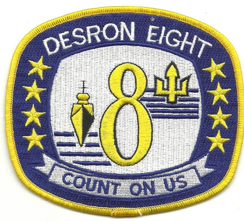 US Navy DESRON EIGHT  Destroyer Squadron 8 Patch 001.jpeg