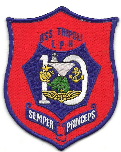 US Navy LPD-10 USS Tripoli Patch 001.jpeg