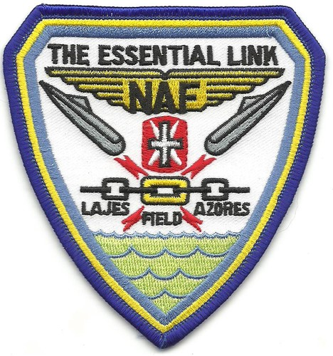 US Navy NAF Lajes Field Azores Patch 001.jpeg