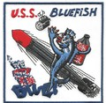 US Navy SS-222 USS Bluefish Gato-Class Submarine Patch 001.jpeg