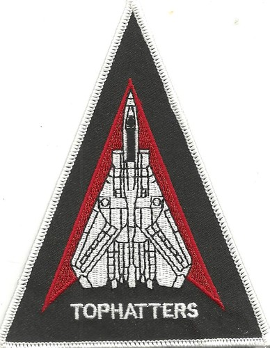 US Navy VFA-14 Tophatters Fighter Attack Squadron Patch 001.jpeg