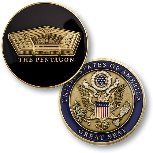 United States The Pentagon with Great Seal Challen Coin.jpeg