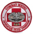 Combat Medic Operation Iraqi Freedom Veteran Military Patch.jpeg