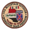 United States Army 10th Mountain Division Operation Iraqi Freedom Patch.jpeg