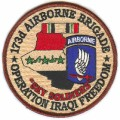 United States Army 173rd Airborne Brigade Operation Iraqi Freedom Patch.jpeg