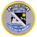 United States Navy LPD-3 USS LA SALLE Amphibious Transport Dock Ship Military Patch.jpeg