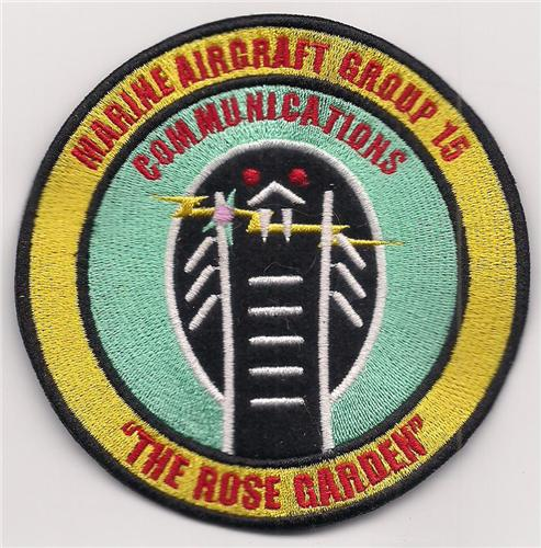 USMC MAG-15 Royal Thai Air Base Nam Phong The Rose Garden Vietnam Patch
