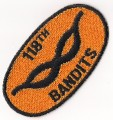 US Army 118th Assault Helicopter Company  The Bandits Patch 001.jpeg