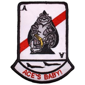 United States Navy Ace Baby Tomcat F-14 Patch PM5343.jpeg