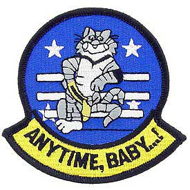 United States Navy Anytime Baby Tomcat F-14 Patch PM5015.jpeg