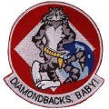 United States Navy Diamondback Baby Tomcat F-14 Patch PM5353.jpeg