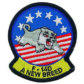 United States Navy F-14D A New Breed Tomcat Patch PM0195.jpeg