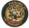 United States Navy Fighting-31 Last Show Baby Tomcat F-14 Patch 001.jpeg