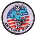 United States Navy Tomcat Anytime Baby F-14 Patch PM0185.jpeg