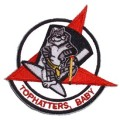 United States Navy Tophatters Baby Tomcat F-14 Patch PM5105.jpeg
