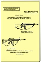 UNITED STATES MILITARY  OFFICIAL MAINTENCE MANUAL M16A ( 97128-250 PAGES ).jpeg