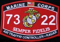 USMC Air Traffic Controller Radar MOS 7322 Patch.jpeg