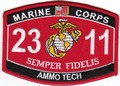USMC Ammo Tech 2311 MOS PATCH.jpeg