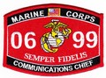 USMC Communications Chief MOS 0699 Patch.jpeg