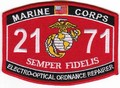 USMC Electro Optical Ordnance Repairer 2171 MOS Patch.jpeg