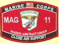 USMC MAG 11 Marine Aircraft Group Close Air Support MOS Patch.jpeg