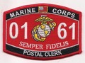 USMC MOS 0161 Postal Clerk Patch.jpeg