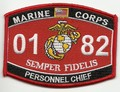 USMC MOS 0182 personnel Chief Patch.jpeg