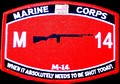 USMC MOS M-14 When It  IT Absolutely Needs To Be Shot Today Patch.jpeg