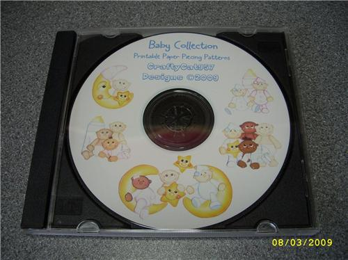 NEW BABY COLLECTION 38 PAGES PAPER PIECING  BY CRAFTYCAT957