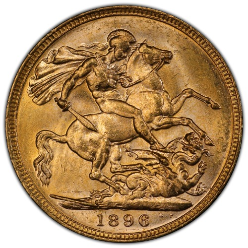 1898-M Sovereign PCGS MS64 2