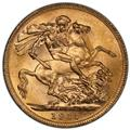 Australia 1915-P Gold Sovereign KM-29 PCGS MS-65 1