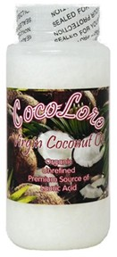 Avitech   Coco Loro- 100% Organic Virgin Coconut Oil  4 oz. Many Benifits 4 Bird