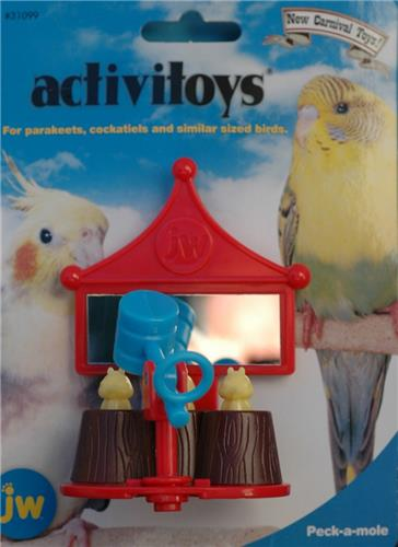 JW's Carnival Toy Series - Whack a Mole - Toy  for small birds