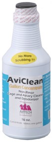 Aviclean-cage cleaner-CONCENTRATE- Wife Voted #1 BEST- 16oz