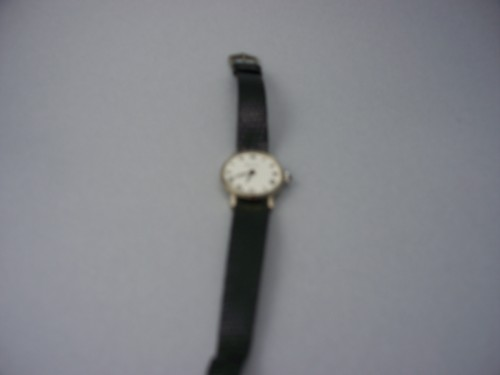 (Vintage) 1970'S Tiffany & Co. Stainless Steel Silver Watch With Sapphire Crown And Snake Band