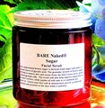 BARE NAKED (unscented) Sugar Face & Body Scrub