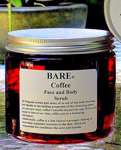 BARE Coffee Face & Body Scrub