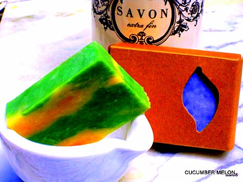 BARE Block Cucumber Melon Soap
