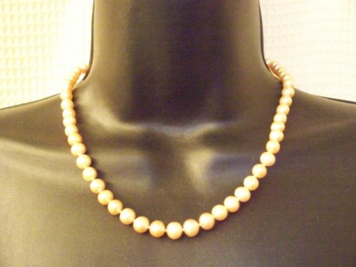 Freshwater Potato Pearls 5 Mm. 17 Inches