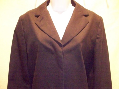 Brooks Brothers Navy Blue Trench Coat Size 10