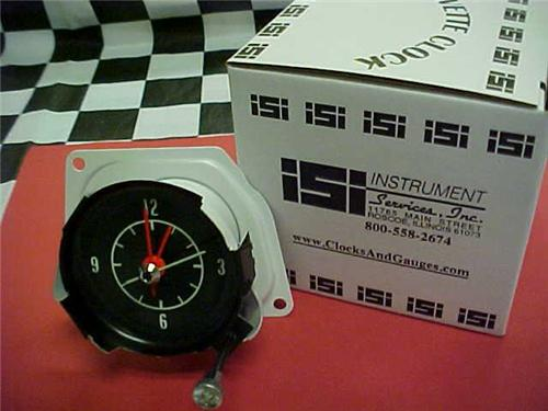 68, 69, 70, 71, 1968, 1969, 1970, 1971 New Corvette Quartz Clock