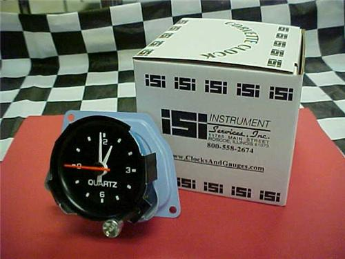 1982 82 New Corvette Quartz Clock