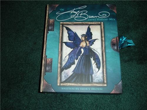 Amy Browns Tarot Cards Fairy Set