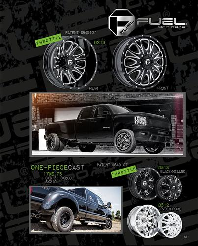 FUEL WHEELS COLLECTION