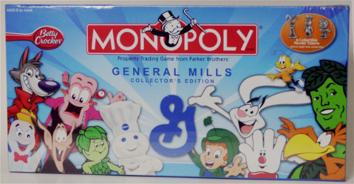Rare Monopoly Betty Crocker General Mills Edition 2006