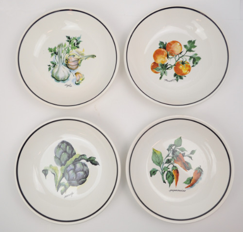 Over and Under Italy Set of 4 Pasta Serving Bowls