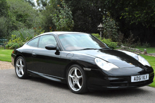 Porsche 911 Carrera 4 2002 Tiptronic Black Private