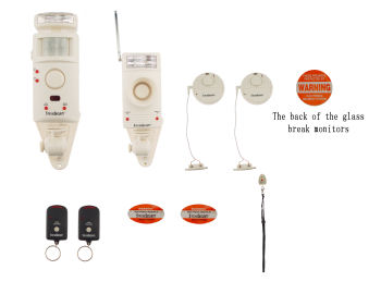 Wireless Security System with Alarm or Chime SSS300DC