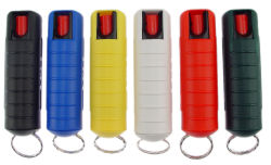 1/2 oz 17% Pepper Spray In Hard Case-Assorted Colors